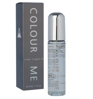 Colour Me Silver Sport Eau de Toilette 50ml for Men