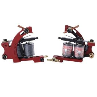 Complete Tattoo Kit 2 Tattoo Machines Power Supply System EU PLUG - intl - 2