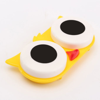 Contact Lens Box Case Cute Animal Portable Storage Soak Cleaning - 2