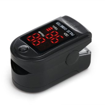 CONTEC CMS50DL Fingertip Pulse Oximeter blood oxygen monitor Black