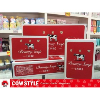 Cow Beauty Soap Red Variant 3bars Price Philippines