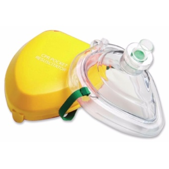 CPR Pocket Mask / Resuscitator + Free CPR Life Key Price Philippines