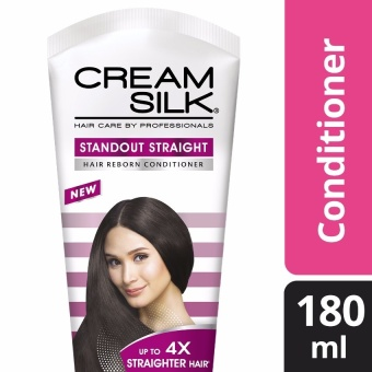 CREAM SILK HAIR CONDITIONER STANDOUT STRAIGHT 180ML .