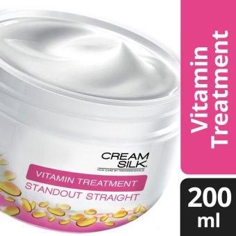 CREAM SILK HAIR TREATMENT STANDOUT STRAIGHT 200ML .