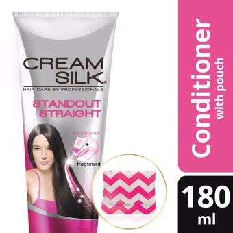 Cream Silk Triple Expert Rescue Standout Straight Conditioner 180ml with Free Pouch