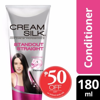 Creamsilk Daily Treatment Conditioner Standout Straight 180ml 50%off