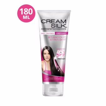 Creamsilk Daily Treatment Conditioner Standout Straight 180ml 50%off - 2