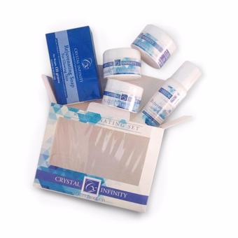 Crystal Infinity Beauty Products Rejuvenating Set (New Pack)