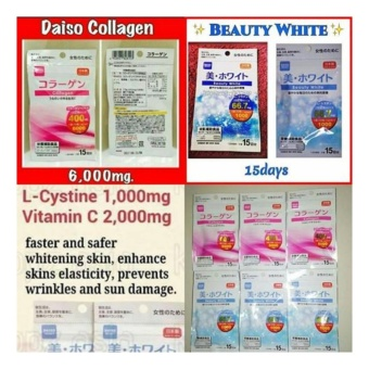 Daiso Collagen (30 Tablets) and Daiso Beauty White (30 Tablets) - 2