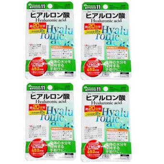 DAISO HYALURONIC ACID GREEN set of 4