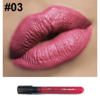 Danimer Waterproof Long Lasting Liquid Matte Lipstick Lip Gloss #0312g
