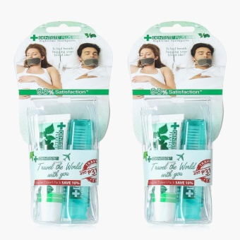Dentiste Compact Oral Travel Kit (Set of 2)