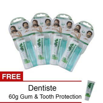 Dentiste' Plus White Pocket Kit with Free Dentiste NighttimeToothpaste 60g