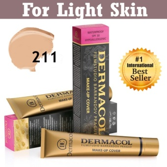 Dermacol EXTREME MAKE UP COVER FOUNDATION #211 (Light Shade)