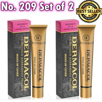Dermacol Make-Up Cover Foundation Shades No.209 Buy 1 Get 1 Free