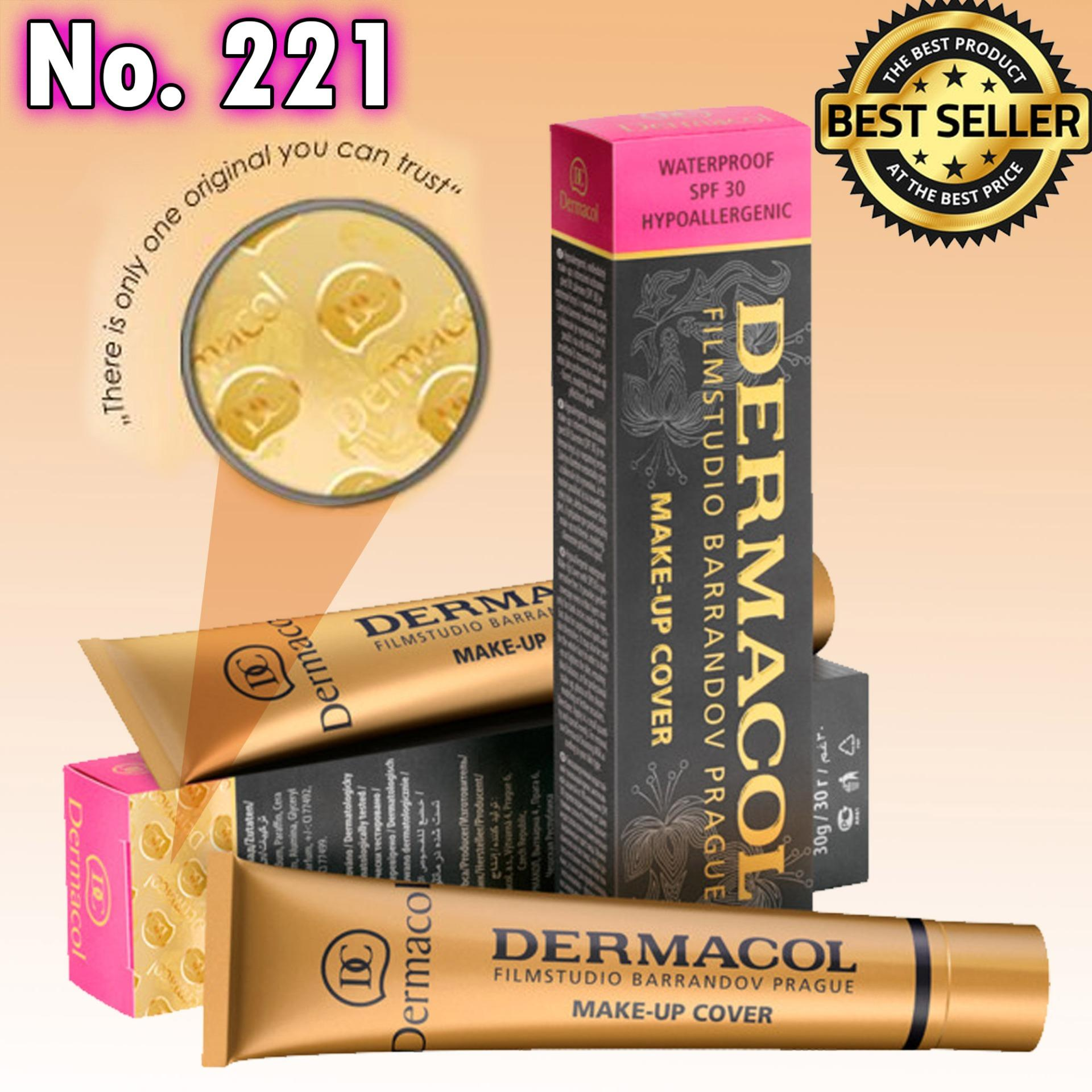 Dermacol Make-Up Cover Foundation Shades No.221 Philippines