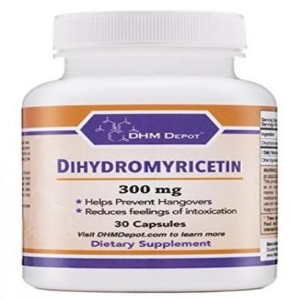 Dihydromyricetin (Hovenia Dulcis Extract) Scientifically Proven to Prevent Hangovers (Naturally Obtained from the Oriental Raisin Tree) 30 Capsules 300mg Price Philippines