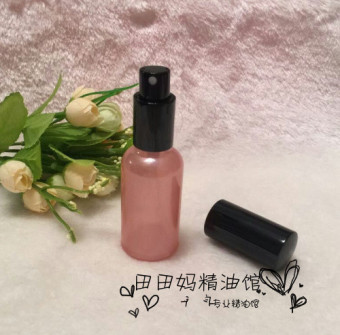 DIY 30ml pink fine spray bottle glass spray bottle