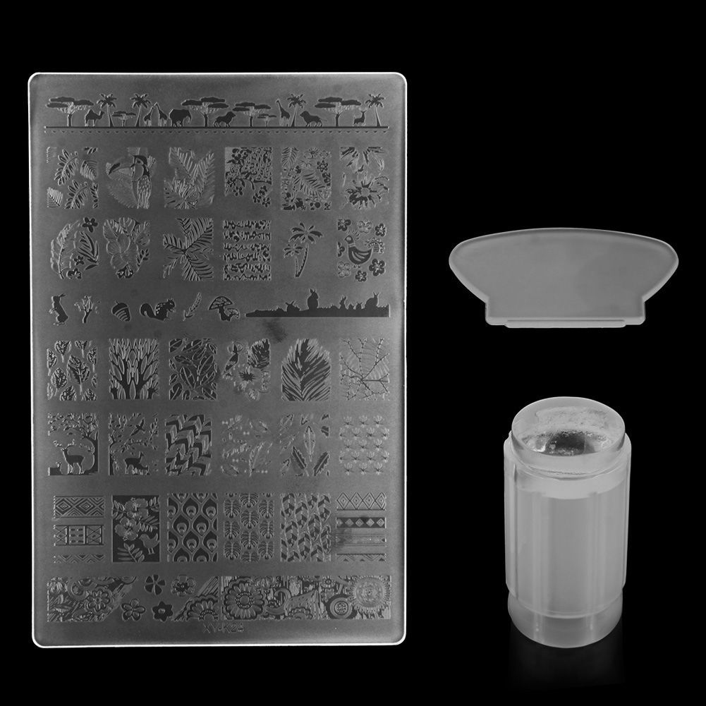Philippines   DIY Nail Art Stamping Stamper Kit With Image Plate ...