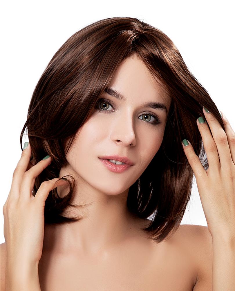 ... Diy New Popular Brown Short Straight Full Wigs Cosplay Party Hair -Intl ...