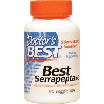 Doctor's Best Serrapeptase Veggie capsules Bottle of 90 Price Philippines
