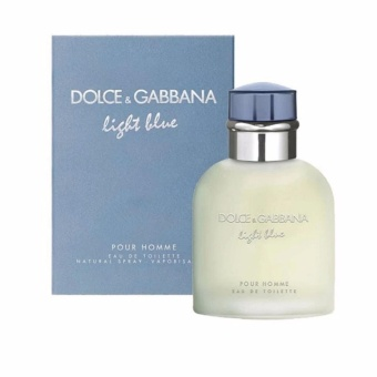 Dolce & Gabbana Light Blue Eau De Toilette For Men 125ml