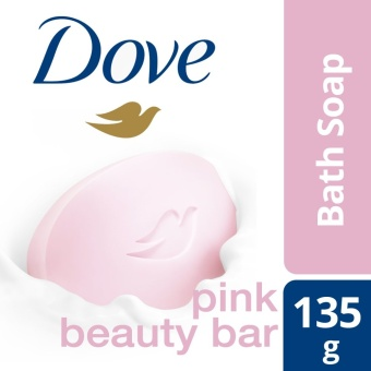 DOVE BAR SOAP PINK BEAUTY 135G .