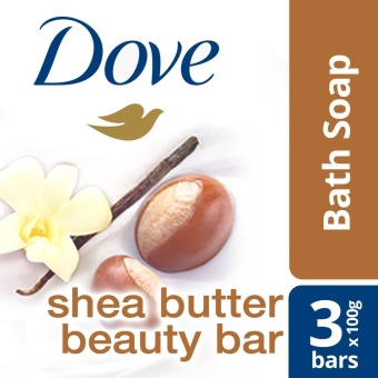 DOVE BAR SOAP SHEA BUTTER 3x100G .
