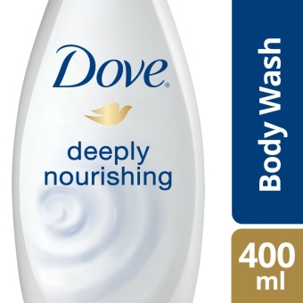 DOVE BODY WASH DEEPLY NOURISHING 400ML .