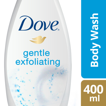 DOVE BODY WASH GENTLE EXFOLIATING 400ML