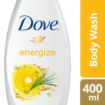 DOVE BODY WASH GO FRESH ENERGIZE 400ML .