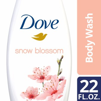 Dove Body Wash Snow Blossom 22oz