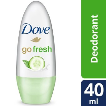 Dove Go Fresh Cucumber Deodorant Roll-On 40ml .