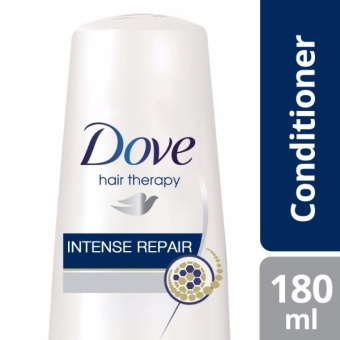 DOVE HAIR CONDITIONER INTENSE REPAIR 180ML .