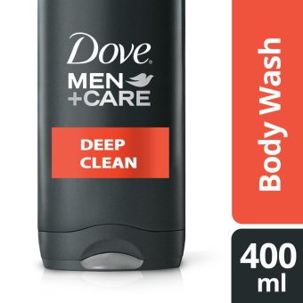 DOVE MEN BODY WASH DEEP CLEAN 400ML .