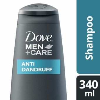 DOVE MEN SHAMPOO ANTI-DANDRUFF 340ML .