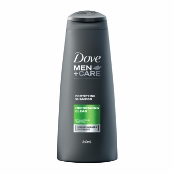 DOVE MEN SHAMPOO REFRESHING CLEAN 340ML . - 2