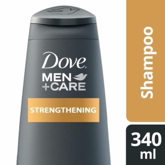 DOVE MEN SHAMPOO STRENGTHENING 340ML .