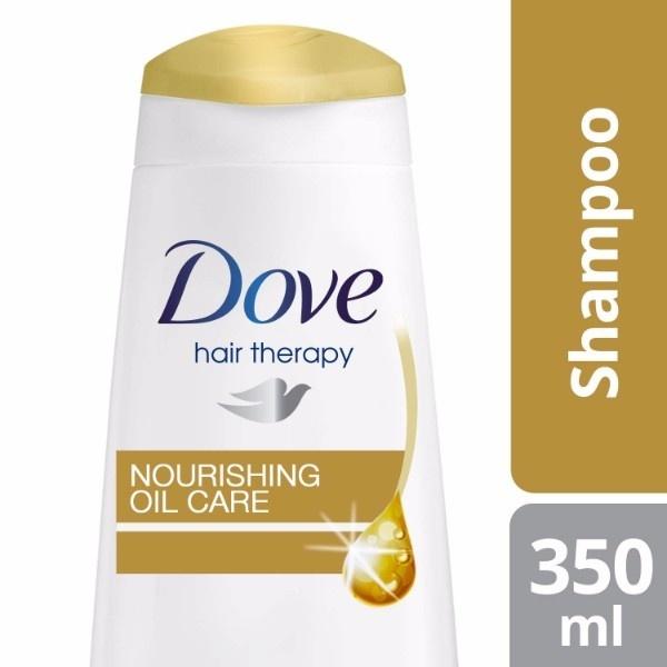 DOVE SHAMPOO NOURISHING OIL CARE 350ML .