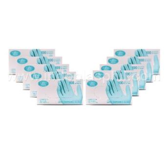 Dr. Choice Premium Disposable Gloves Box of 100 - Sold in 10 boxes(Large)
