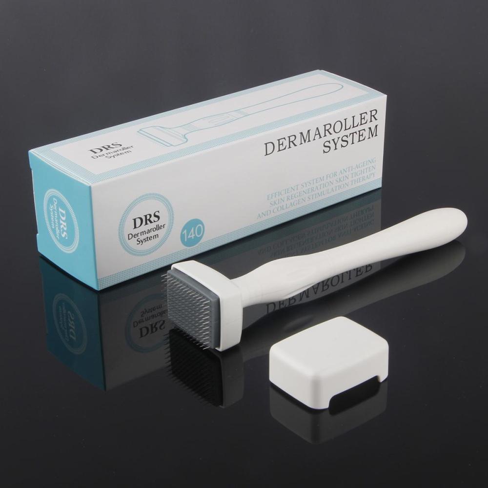 Electric Derma Pen Stamp Auto Micro Needle Roller Anti Aging Skin Jarum Dermapen Needles Cartridge 12 Pin Drs 140 Titanium Needling Therapy System 20mm