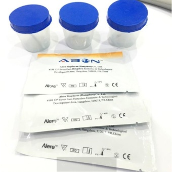 Drug Test Kit, THC and Meth 3pcs with Urine Cups