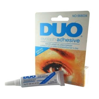 Duo Eyelash Adhesive Eyelash Glue Waterproof False Eyelash(White&Blue) Price Philippines