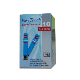 EasyTouch GCU Blood Cholesterol Strips 10's