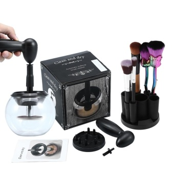 Electric Makeup Brush Wash Dryer Cleaning Tool Kit Cosmetic Brush Cleaner Set - intl
