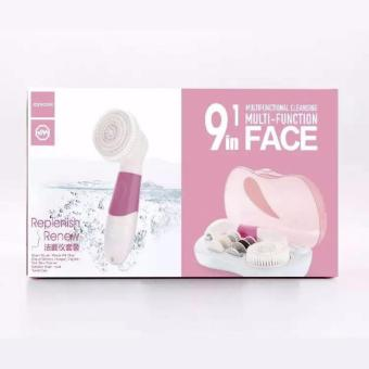 Electric Rotating Facial Cleaner Set JR-CY132 (Pink) - 2