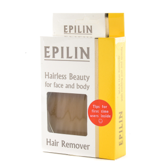 Epilin Hairless Beauty for Face and Body Hair Remover 100g