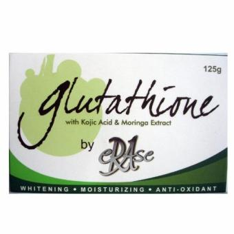 Erase Glutathione Soap with Kojic Acid and Moringa Extract 125g