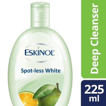 ESKINOL DEEP CLEANSER SPOT-LESS WHITE CALAMANSI 225ML .