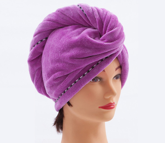 Extra-large soft cute shower cap dry hair hat
